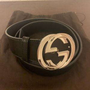 GUCCI men's leather belt